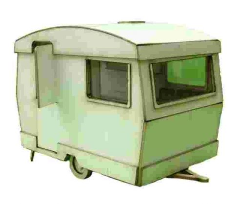 1/24th Retro Caravan