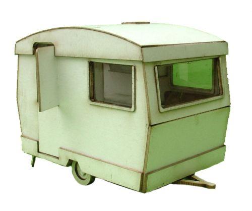 Retro Caravan Kit 1/48th