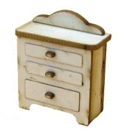 1:48th Retro Chest of Drawer Kit