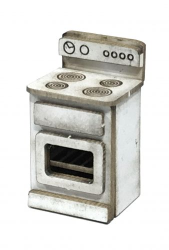 1:48th Retro Electric Cooker