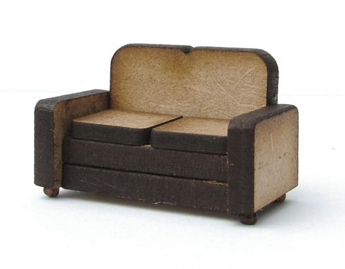 1:48th Retro Two Seater Sofa