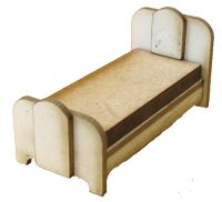 1:48th Retro Single Bed