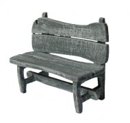 1/48th Rustic Bench Kit