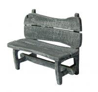 1/48th Rustic Bench Kit