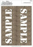 1/76 Rustic Brick Paper