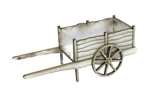 1:48th Rustic Cart