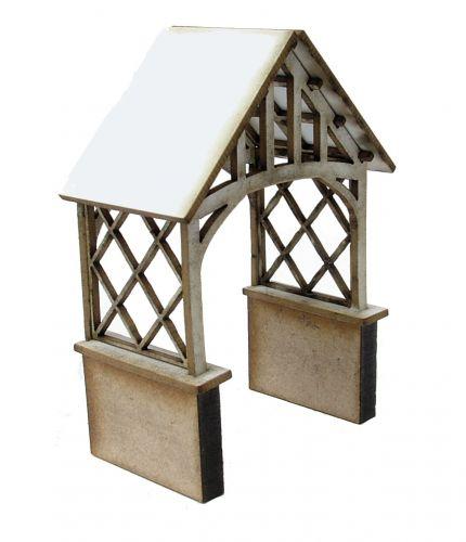 1:48th Rustic Porch