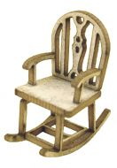 1:48th Rustic Rocking Chair Kit