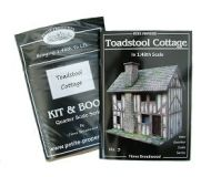 Toadstool Cottage Kit & Book in 1/48th