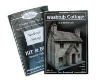 Washtub Cottage Kit & Book in 1/48th