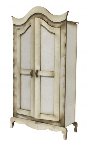 1:24th Shabby Chic Armoire