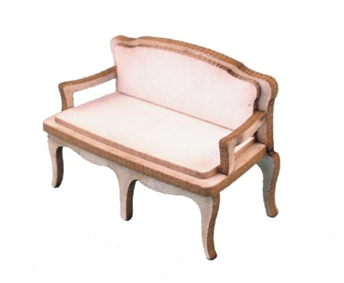 1:48th Shabby Chic Canape Settee Kit