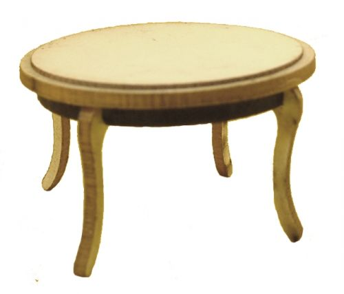 1:48th Shabby Chic Circular Dining Table Kit