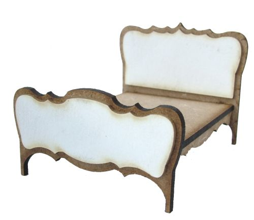 1:24th Shabby Chic Double Bed