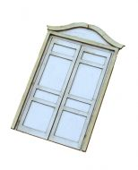 1:48th Shabby Chic Double Door Kit