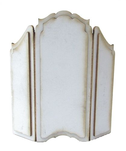 1:24th Shabby Chic Dressing Screen