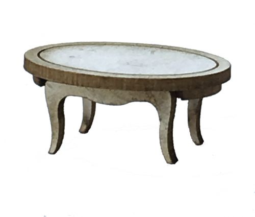 1:48th Shabby Chic Large Coffee Table Kit