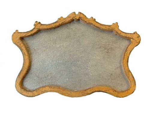 1:48th Shabby Chic Large Mantle Mirror Kit