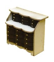 1:48th Shabby Chic Writing Bureau