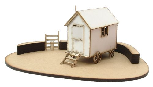 Shepherds Hut & Base Kit 1:48th