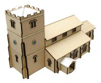 St Thomas Church Kit 1/48th