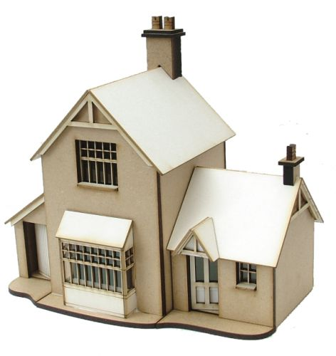 Station Master's Cottage Kit 1/48th