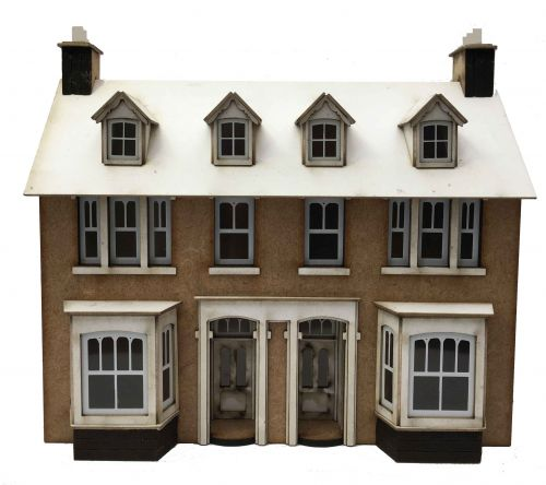1/76th Station Road Semi (LOW RELIEF)