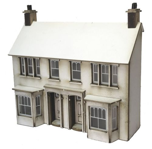 1/148th Station Road Semi (Low Relief) N Gauge
