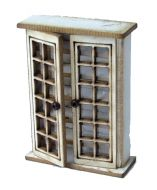 1:48th Tall Glazed Cupboard Kit