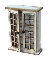 1:48th Tall Glazed Cupboard Kit