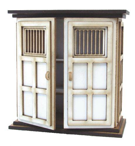 1:24th Tall Tudor Store Cupboard