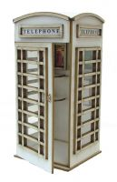 1:24th Telephone Box Kit
