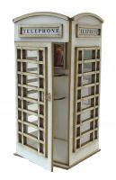 1:24th Telephone Box Kit