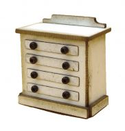 1/48th Traditional Chest of Drawers Kit