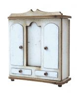 1:48th Traditional Double Wardrobe Kit