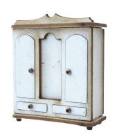 1/48th Traditional Double Wardrobe Kit