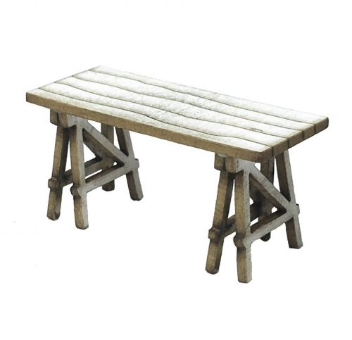 1:48th Trestle Table