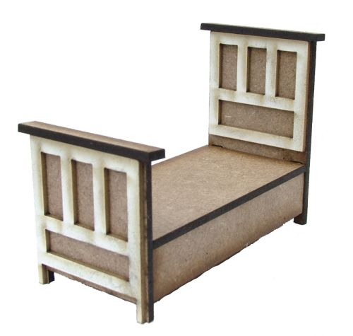 1:24th Tudor Single Bed