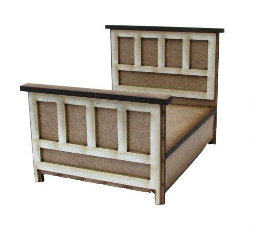 1:24th Tudor Double Bed