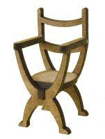 1/24th Tudor Chair Kit