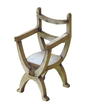 1/48th Pair of Tudor Chairs Kit
