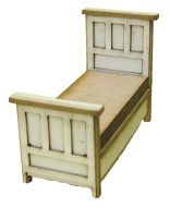 1:48th Tudor Single Bed Kit