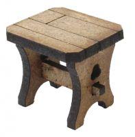 1/24th Scale Tudor Stool Kit