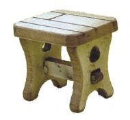1:48th Pair of Tudor Stools Kit