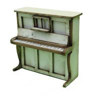 1:48th Upright Piano & Stool