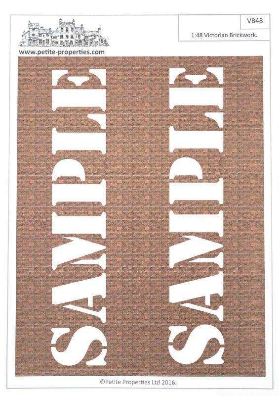 Brick & Flooring Paper