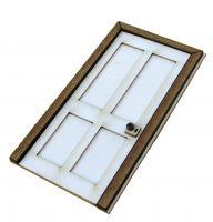 1:24th Victorian Door Kit