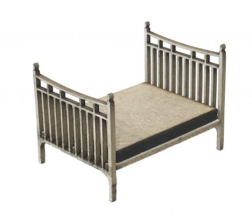 1:48th Victorian Double Bed