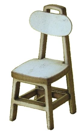 1:48th Pair of Vintage Chairs Kit