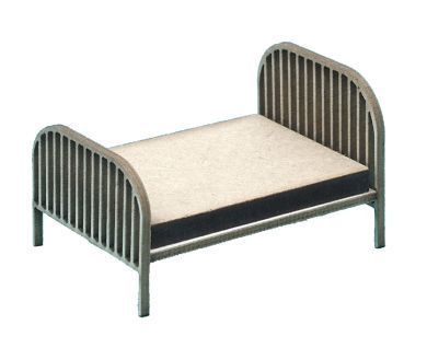 1:48th Vintage Double Bed